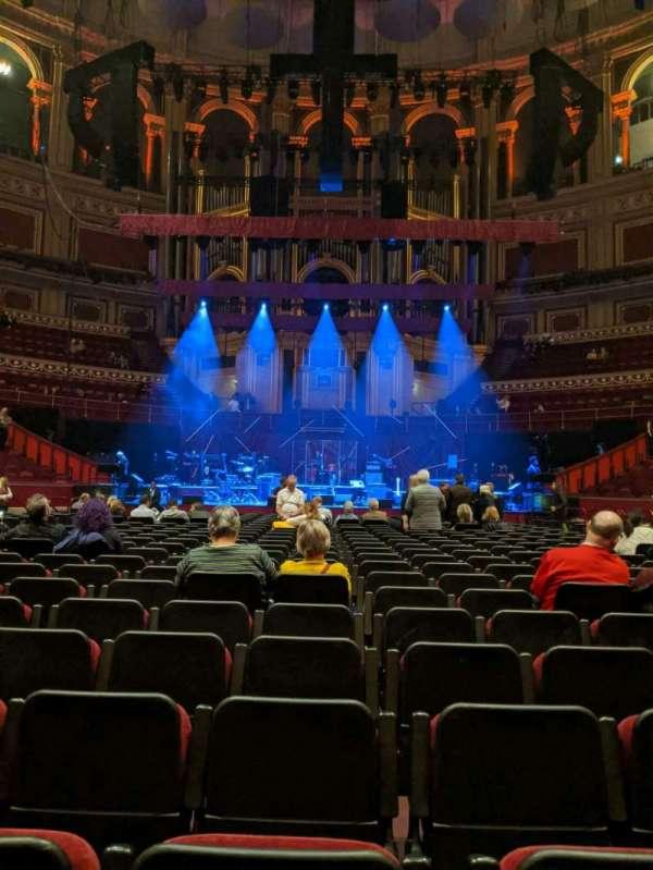 Royal Albert Hall, section: C, row: 25, seat: 18