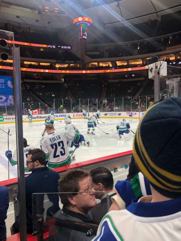 Xcel Energy Center, section: 116, row: 5, seat: 10