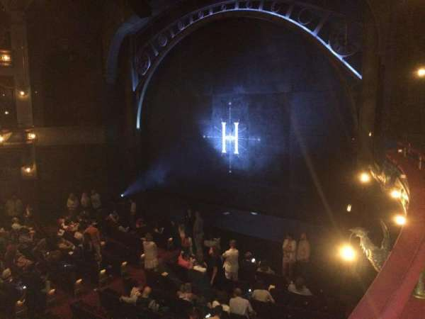 Lyric Theatre, section: Dress Circle Right, row: A, seat: 22