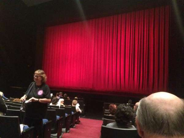 Gerald W. Lynch Theater, section: Orch Right, row: J, seat: 2