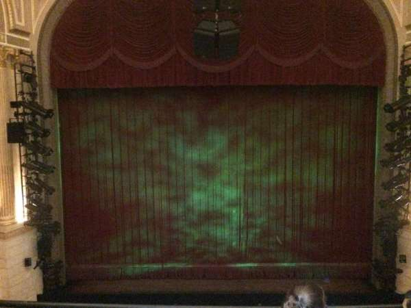 Samuel J. Friedman Theatre, section: Front Mezz, row: A, seat: 110