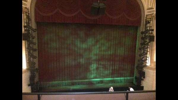 Samuel J. Friedman Theatre, section: Front Mezz, row: A, seat: 106