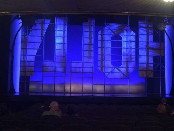 Nederlander Theatre, section: Orch, row: P, seat: 111