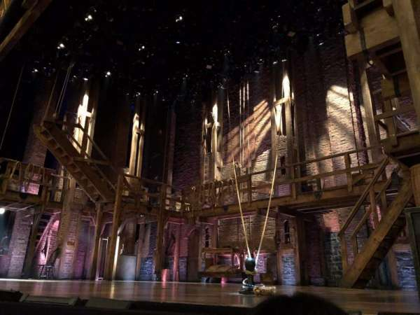 Richard Rodgers Theatre, section: Orch Right, row: A, seat: 8