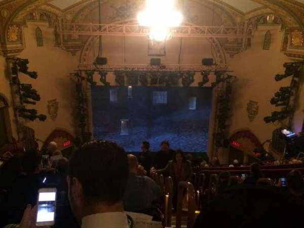 John Golden Theatre, section: Rear Mez, row: G, seat: 101