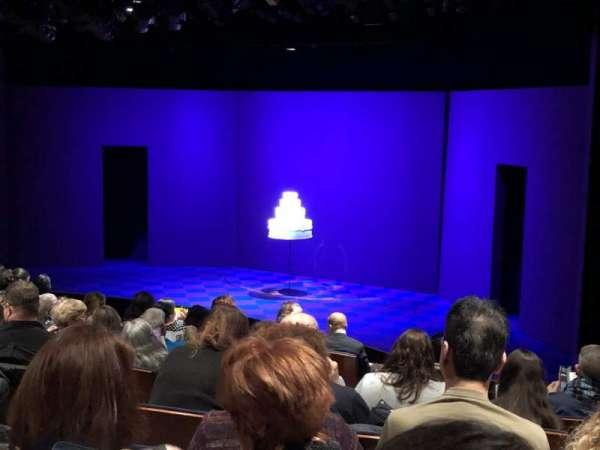 Manhattan Theatre Club at the New York City Center, row: J, seat: 12