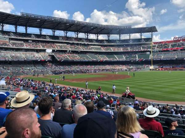 SunTrust Park, section: 112, row: 7, seat: 3