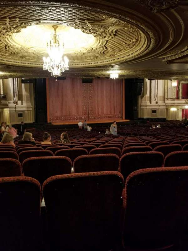 Boston Opera House, section: Orchestra, row: Y, seat: 27