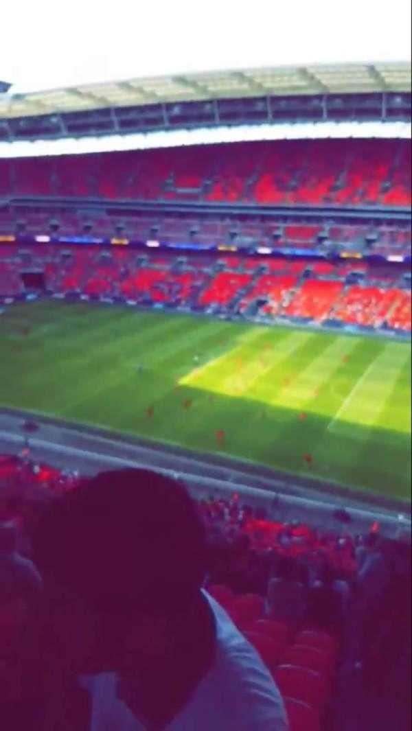 Wembley Stadium, section: 520