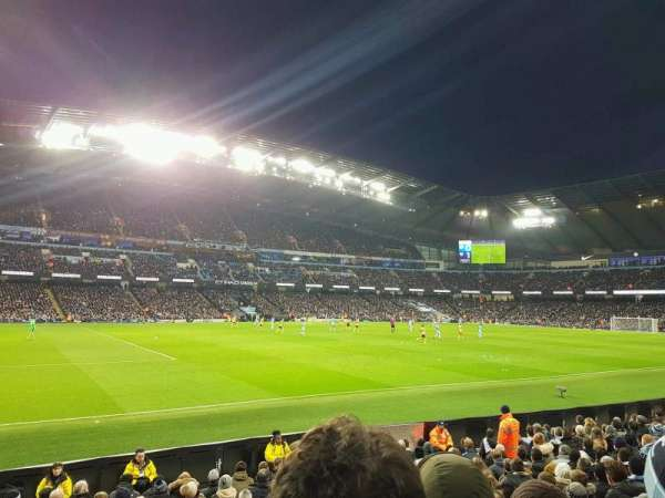 Etihad Stadium (Manchester), section: 109, row: L, seat: 220