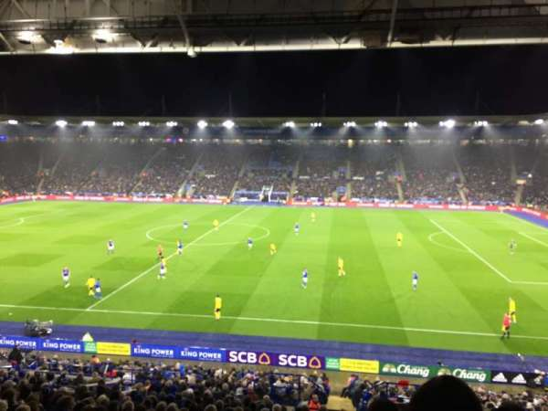 King Power Stadium, section: J3, row: HH, seat: 266