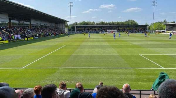 Pirelli Stadium, section: East Stand Terrace, row: N/A, seat: N/A