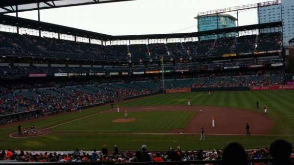Oriole Park at Camden Yards, section: 17, row: 5, seat: 18
