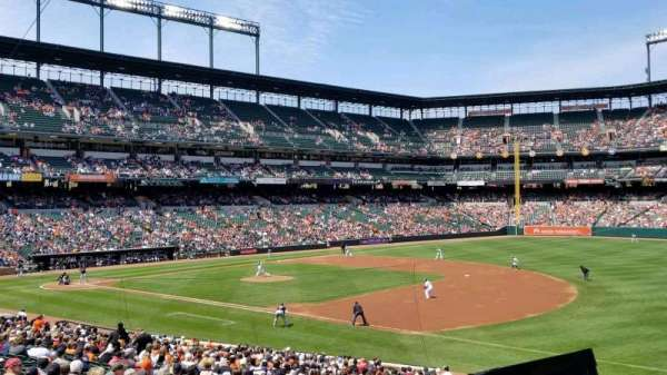 Oriole Park at Camden Yards, section: 13, row: 1, seat: 16