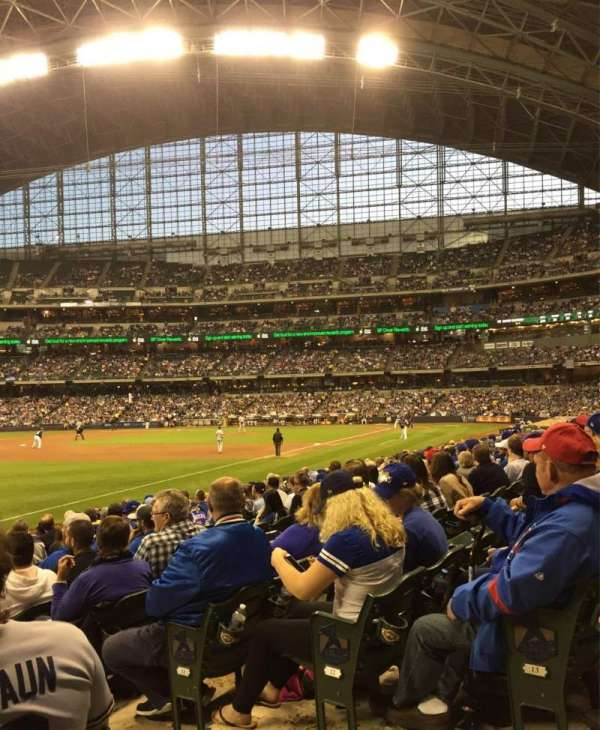 Miller Park, section: 128, row: 14, seat: 3