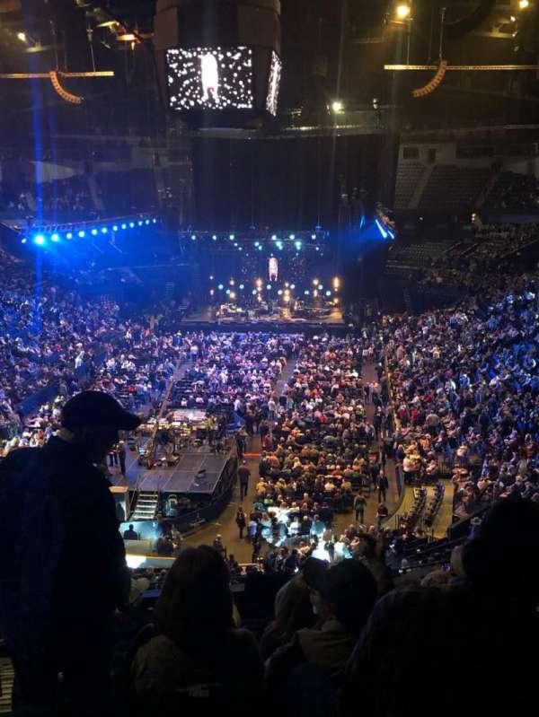 Bridgestone Arena, section: 202, row: J, seat: 14