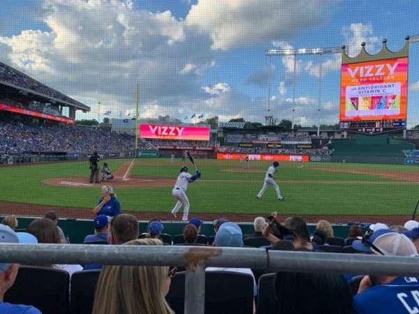 Kauffman Stadium, section: 131, row: B, seat: 9