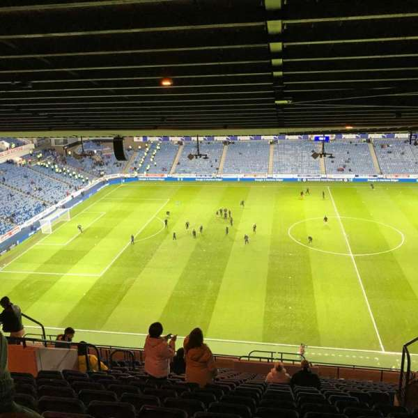 Ibrox Stadium, section: CD4, row: Y, seat: 0184