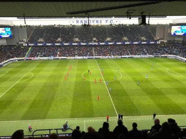 Ibrox Stadium, section: CD4, row: L, seat: 0181