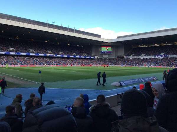 Ibrox Stadium, section: SW5, row: H, seat: 0291