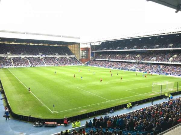 Ibrox Stadium, section: BRN, row: B, seat: 006