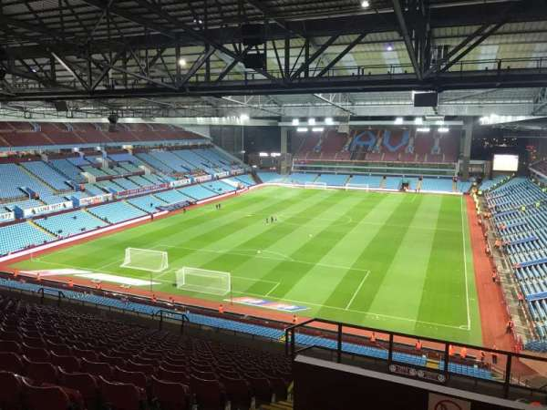 Villa Park, section: K2, row: 21, seat: 55
