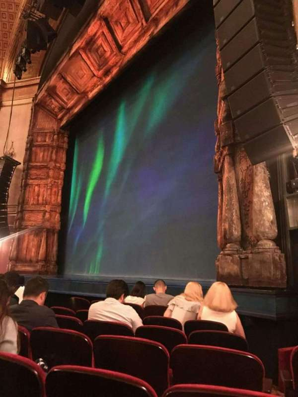 St. James Theatre, section: Orchestra R, row: F, seat: 20