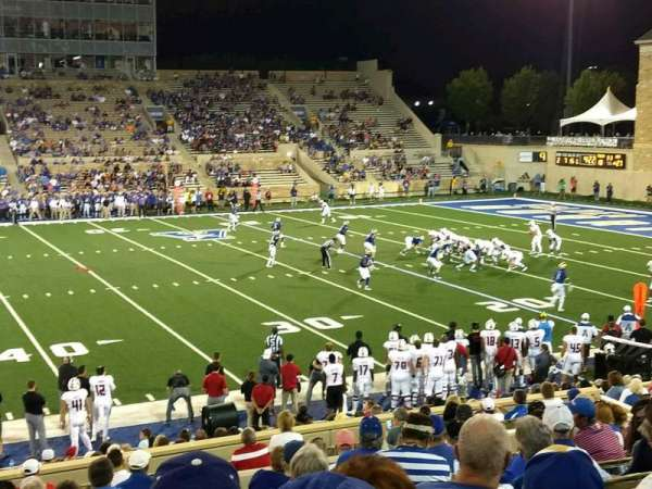 H. A. Chapman Stadium, section: 104, row: 26, seat: 22