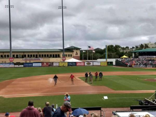 Roger Dean Chevrolet Stadium, section: 212, row: 1, seat: 12