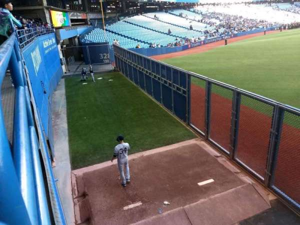 Rogers Centre, section: 105L, row: 1, seat: 107