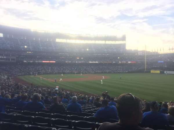 Safeco Field, section: 111, row: 33, seat: 16
