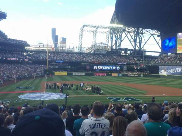 T-Mobile Park, section: 125, row: 26, seat: 8