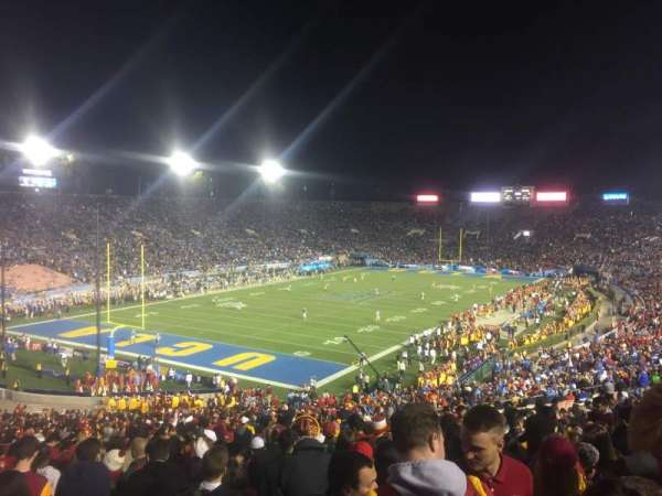 Rose Bowl, section: 28-L, row: 51, seat: 11