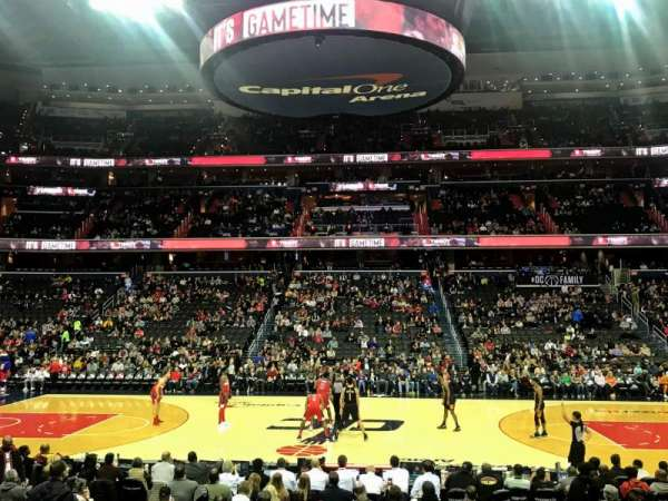 Capital One Arena, section: 100, row: L, seat: 15