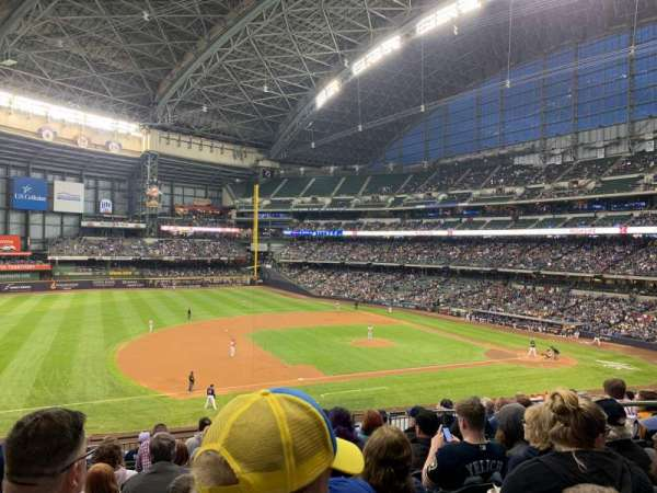 Miller Park, section: 226, row: 12, seat: 6