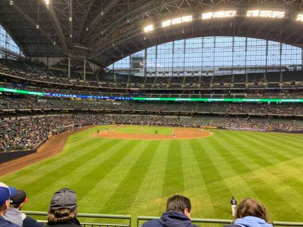 Miller Park, section: 203, row: 4, seat: 13