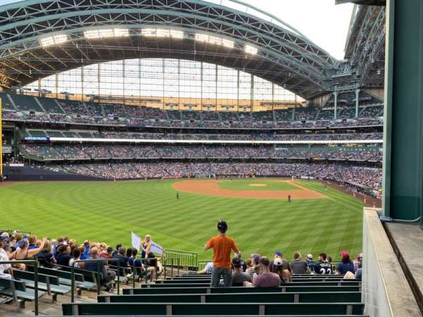 Miller Park, section: 236, row: 15, seat: 17