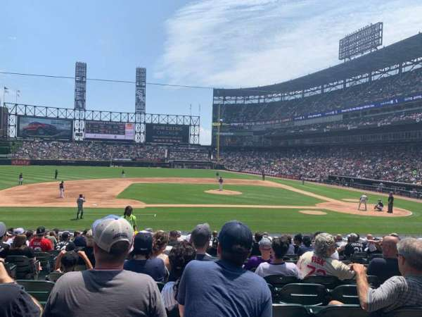 Guaranteed Rate Field, section: 139, row: 20, seat: 7