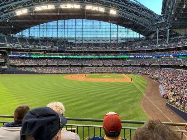 Miller Park, section: 234, row: 3, seat: 10