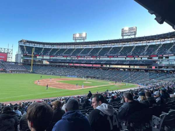 Guaranteed Rate Field, section: 148, row: 35, seat: 4