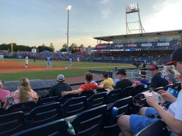 First Horizon Park, section: 107, row: F, seat: 9