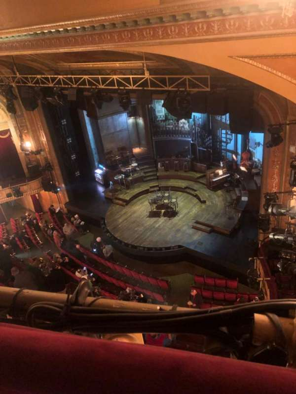 Walter Kerr Theatre, section: Balcony R, row: A, seat: 42