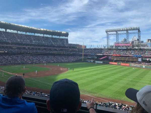 T-Mobile Park, section: 214, row: 2, seat: 8