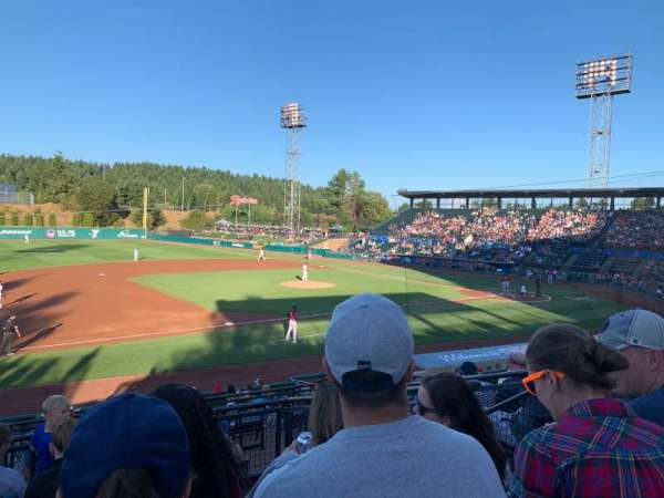Cheney Stadium, section: A, row: 6 , seat: 6