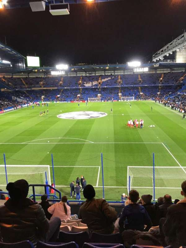 Stamford Bridge, section: Shed Upper, row: 13, seat: 122
