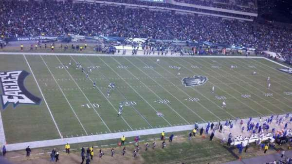 Lincoln Financial Field, section: 220, row: 2, seat: 1