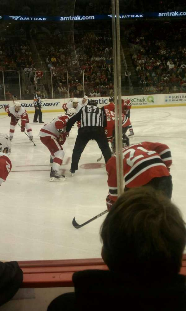 Prudential Center, section: 6, row: 2, seat: 5