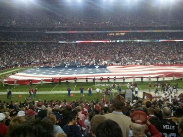State Farm Stadium, section: 111, row: 13, seat: 07