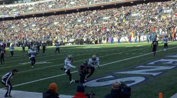 Mt Bank Stadium Section 119 Home Of Baltimore Ravens