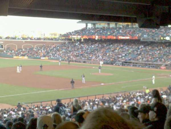 AT&T Park, section: 128, row: 41, seat: 11